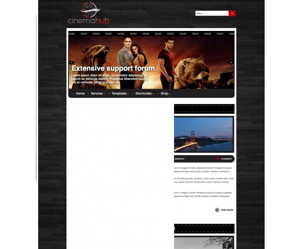 CinemaHub Film Teması wordpress