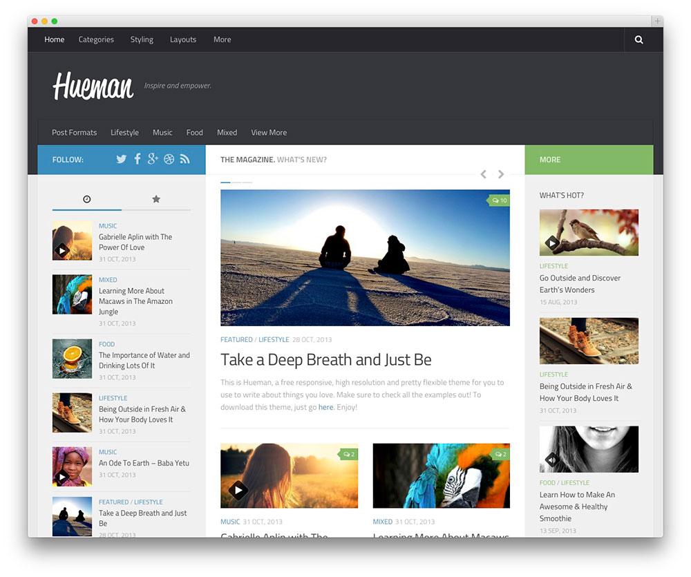 Hueman WordPress Themes Download