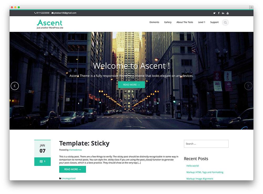 Ascent WordPress Themes