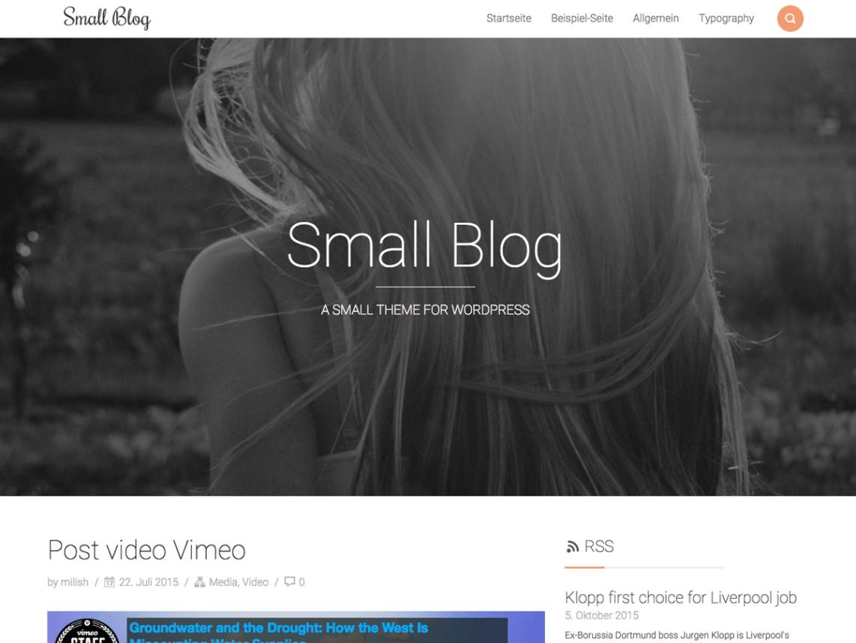 Small blog