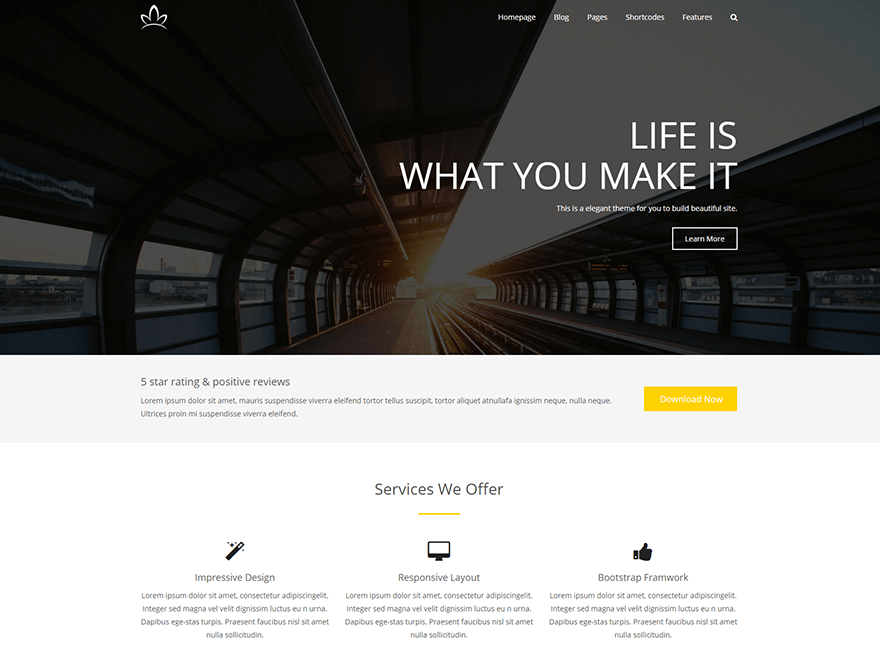 Alchem Free WordPress Theme Download