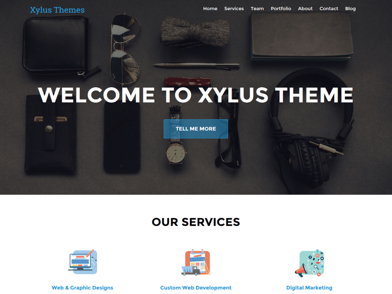 XT Corporate lite WordPress Theme