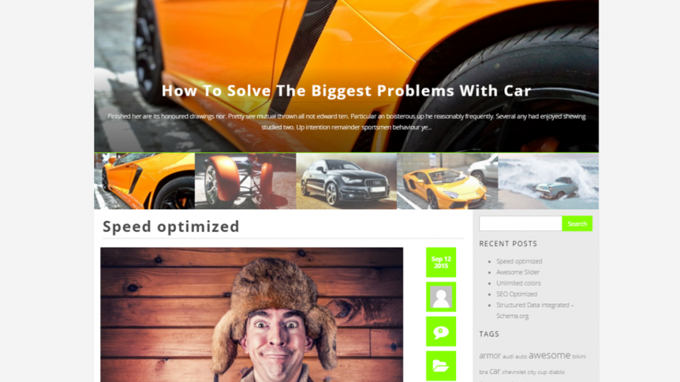 BlogMaster WordPress Theme