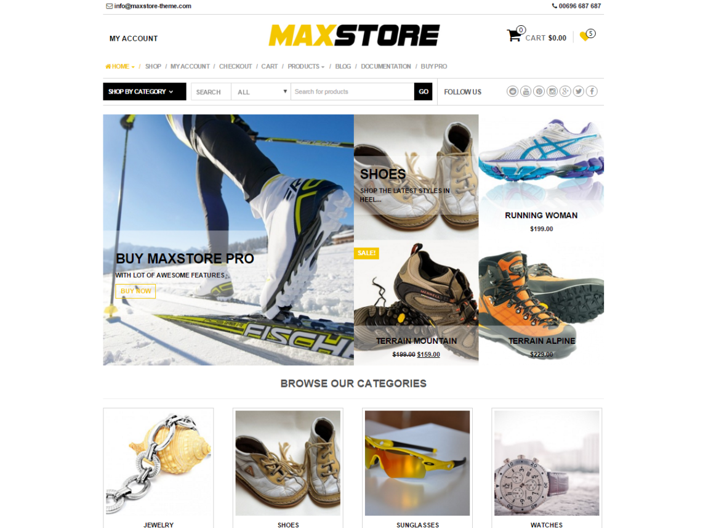 MaxStore WordPress Theme