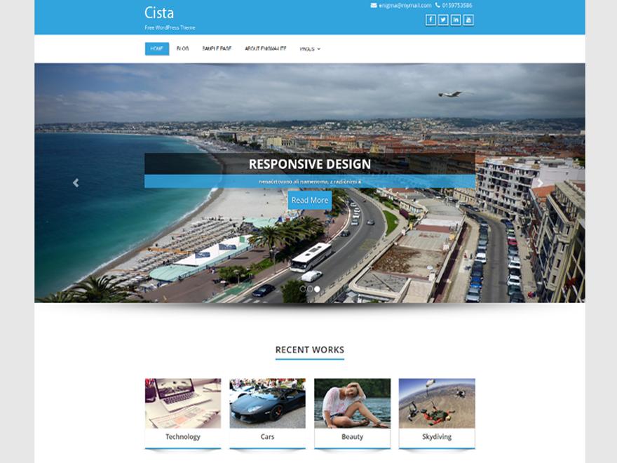 Cista WordPress Theme
