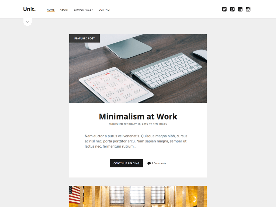 Birim WordPress Theme
