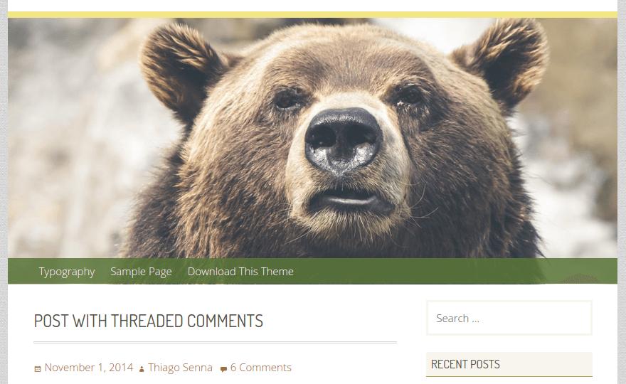 Geiseric WordPress Theme
