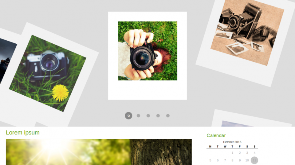 fPhotography WordPress Theme