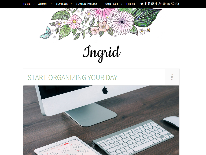 Ingrid WordPress Theme
