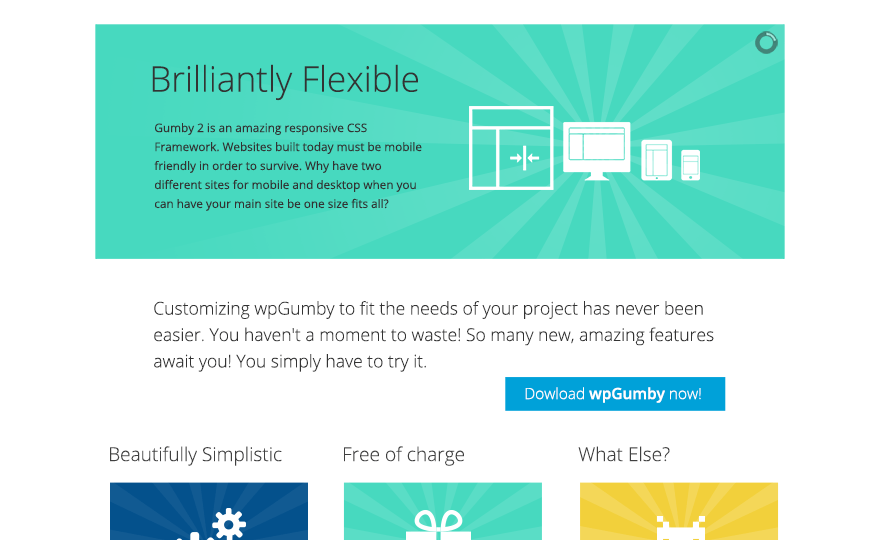 WPGumby WordPress Theme