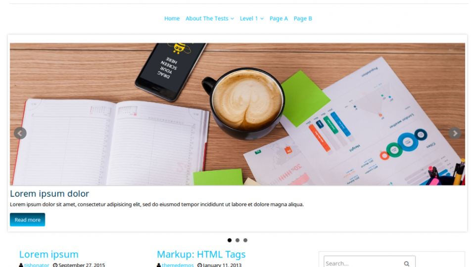 fGeek WordPress Theme
