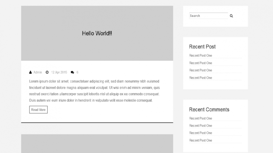 Kento-blog WordPress Theme