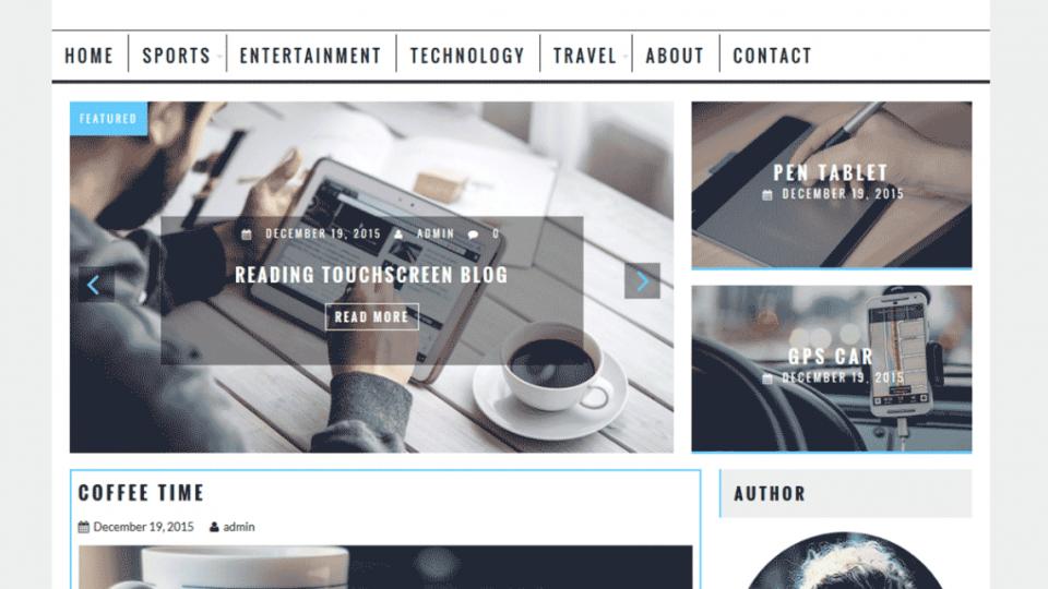 AcmeBlog WordPress Theme Download