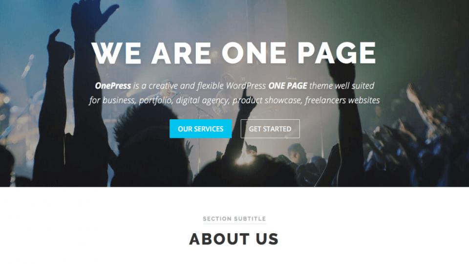 OnePress WordPress Theme