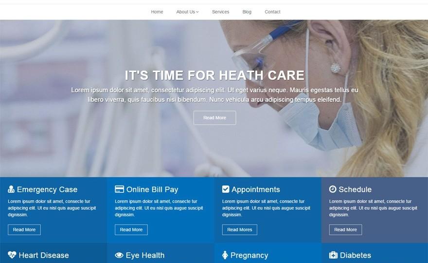 Doctors WordPress Theme