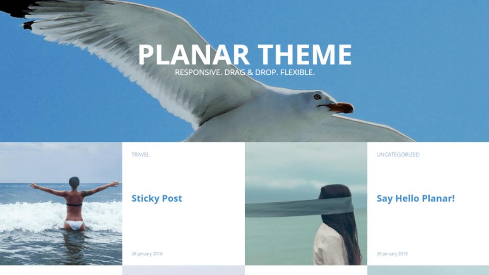 Planar Lite WordPress Themes