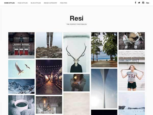 Resi WordPress Theme
