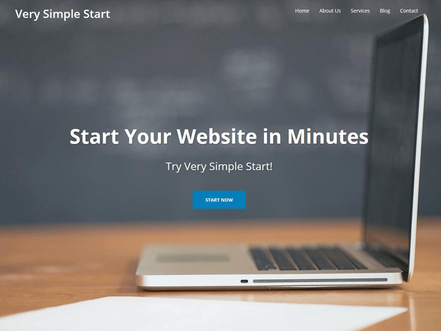 Very Simple WordPress Theme