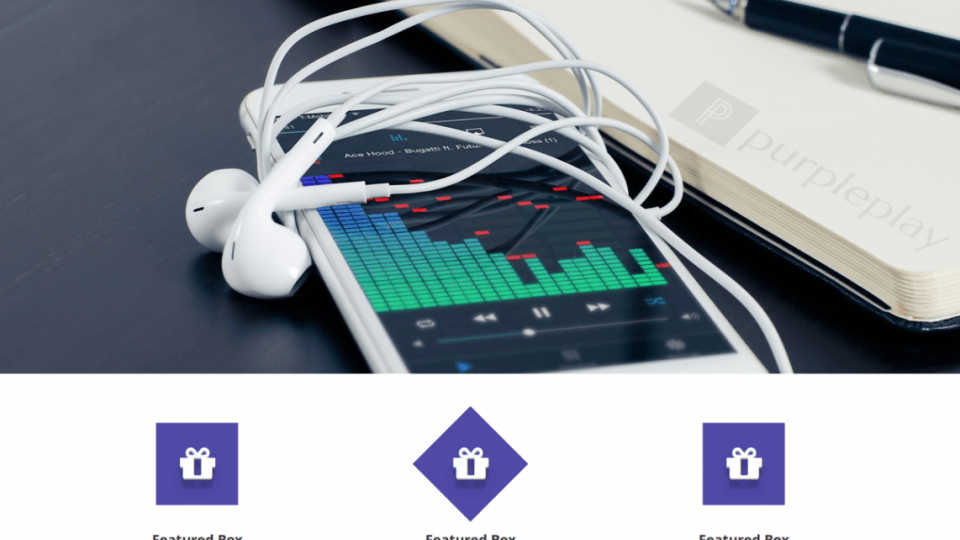 Purple Play WordPress Download
