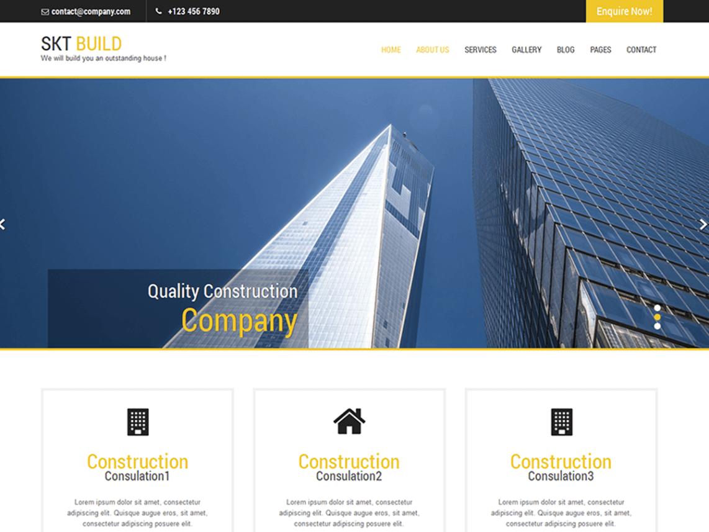 Build Lite WordPress Theme Download