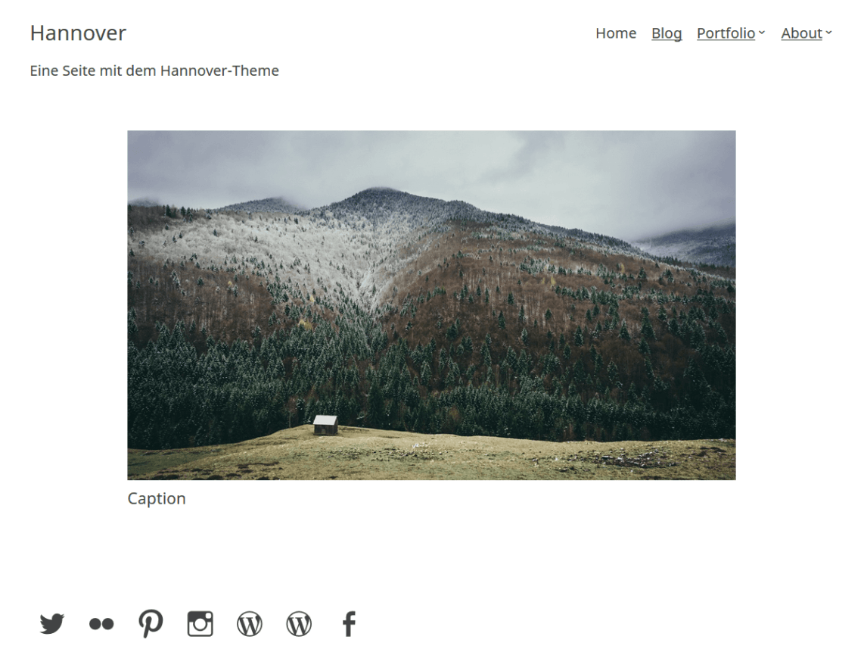 Hannover WordPress Theme Download