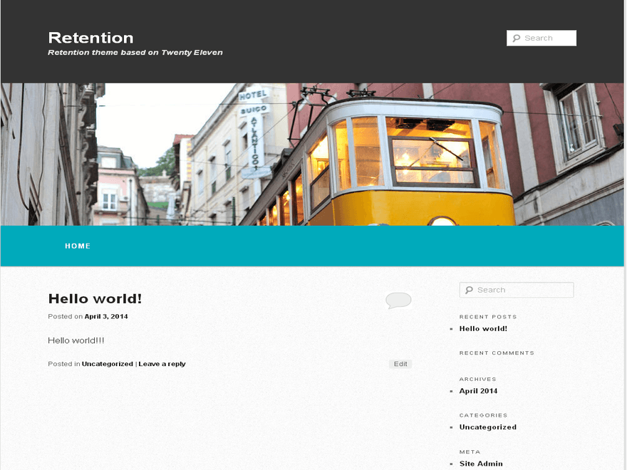 Retention WordPress Theme
