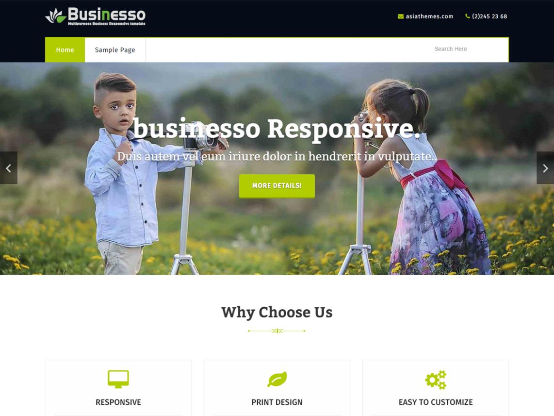 Businesso WordPress Theme Download