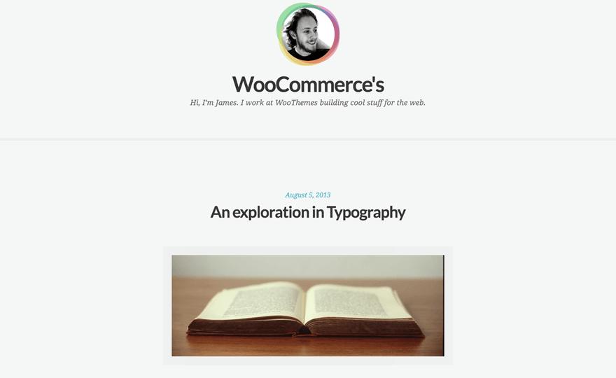 Clear Tranquil WordPress Theme