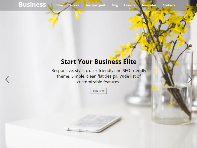 Business Elite WordPress Theme
