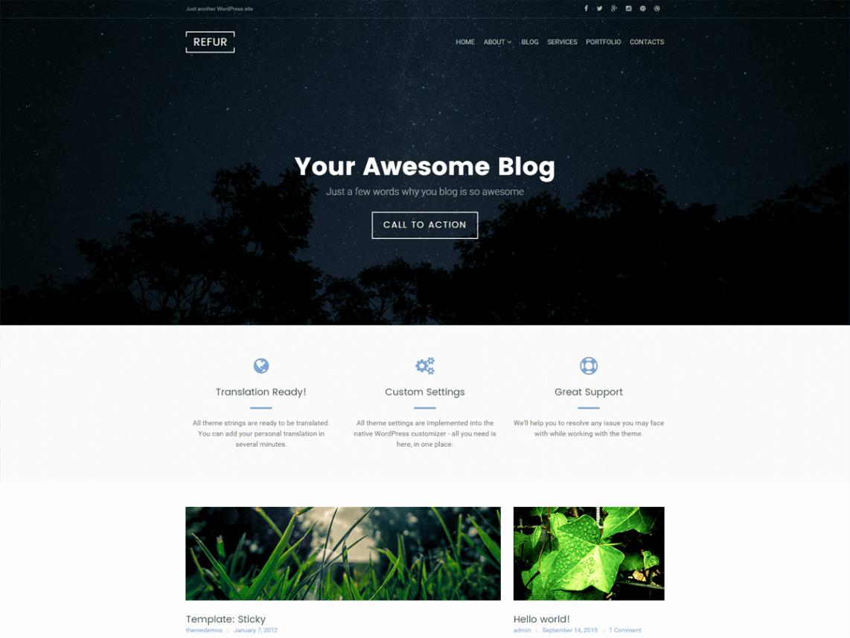 Refur WordPress Theme