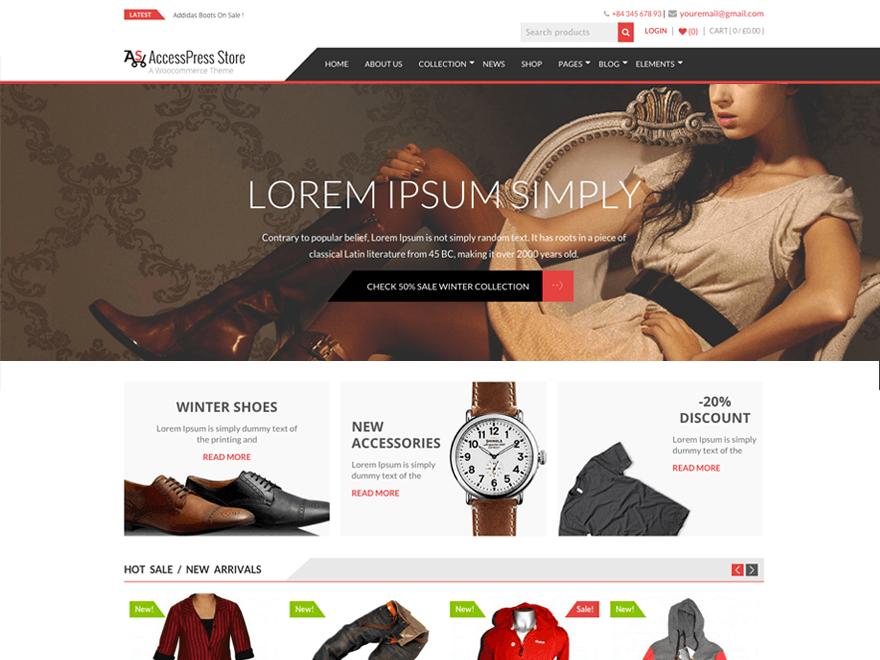 AccessPress Store WordPress Teheme