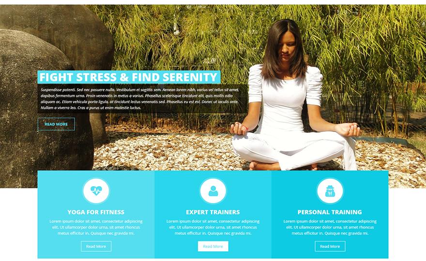 SKT Yogi WordPress Theme Download