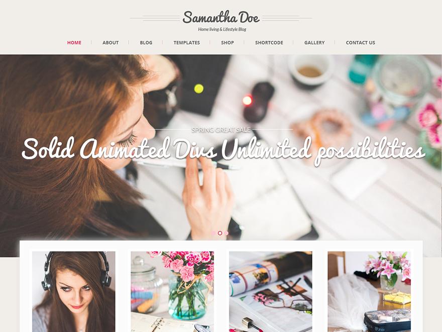 SKT Girlie WordPress Theme
