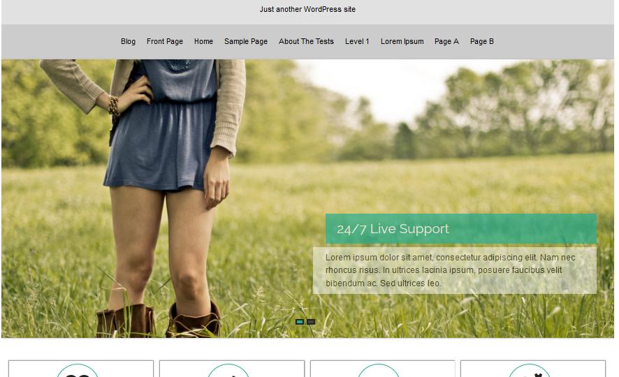 Arora WordPress Theme