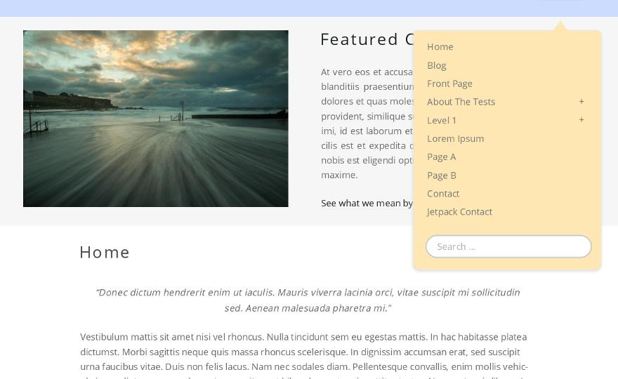Narwhal WordPress Theme