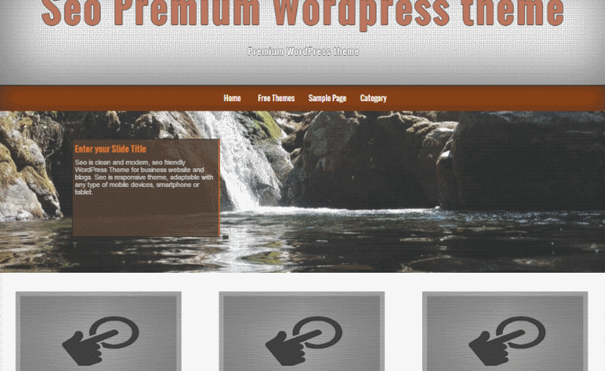 Seo WordPress Theme