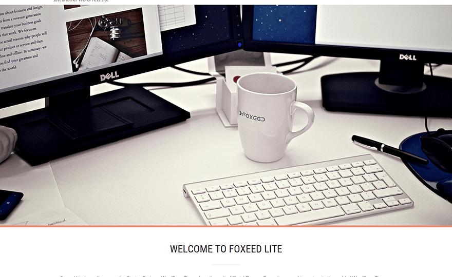 Foxeed Lite WordPress Theme
