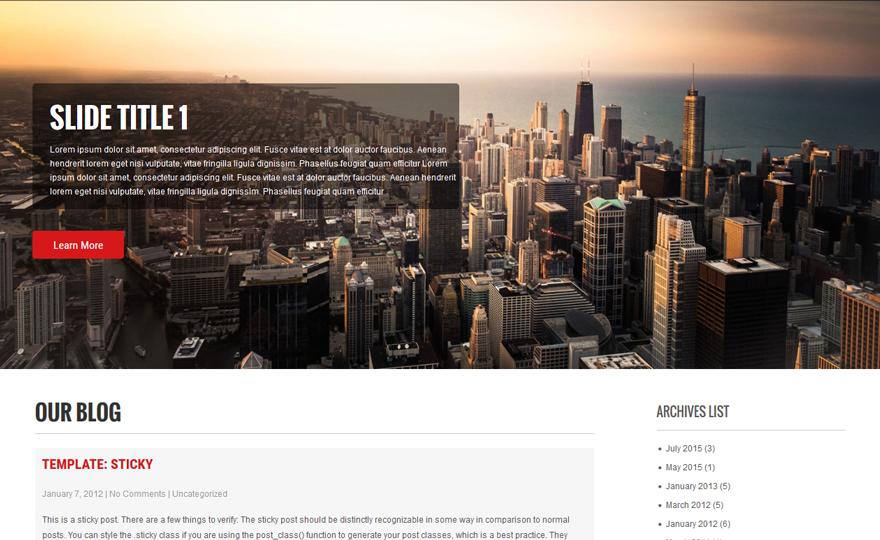 Precious Lite WordPress Theme