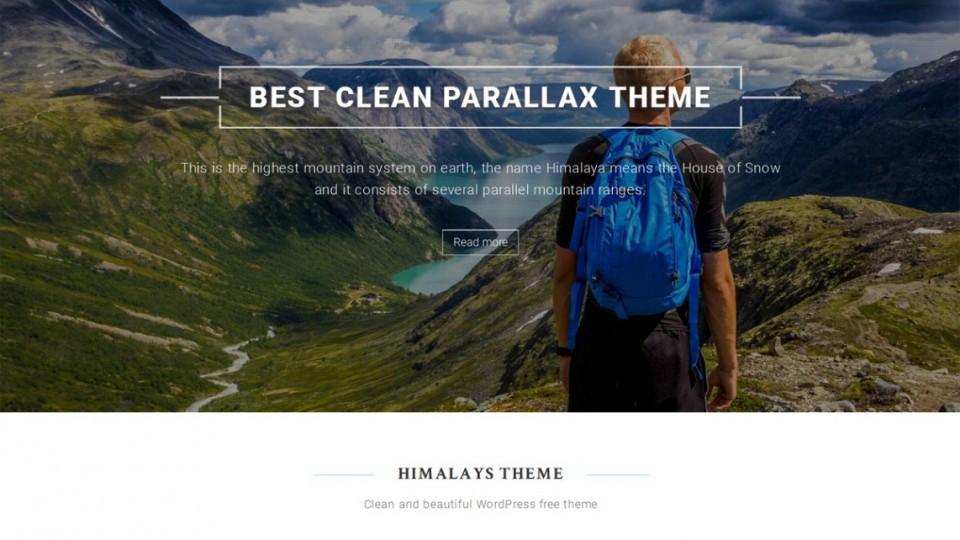 Himalayas WordPress Theme