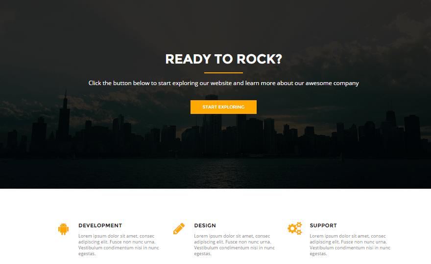 Rocked WordPress Theme